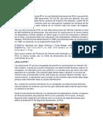 Historia IPv6