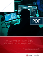 The Internet of Things in the Cyber crime Underground By Trend Micro  www.techiexpert.com
