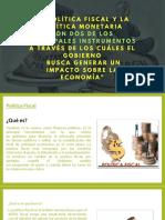 Trabajo-política Fiscal y Monetaria