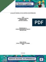 Evidencia 5 Modelo de Un Centro de Distribución