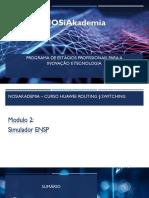 Modulo 2 ENSP - Huawei Routing & Switching
