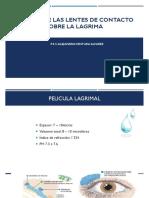 Efectos de Las Lentes de Contacto Sobre La Lagrima
