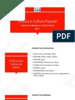 Cultura de massa e cybercultura