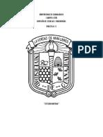 Reporte Práctica de Labor Estequiometria