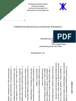 Compendio de Prácticas de Campo Topografía I