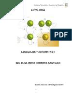 antologia de lenguajes y automatas