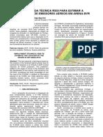 BELTRÃO. Emprego Da Técnica RSSI Para Estimar a Localização de Emissores Aéreos Em Arena BVR. SPECTRUM, Vol. 14. Brasília, 2014