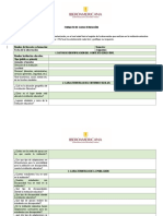 Formato de Caracterizacion Del Contexto Institucional
