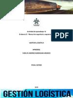 """Actividad de Aprendizaje 16_Evidencia 5 """"Manual de Seguridad y Seguimiento"""""""