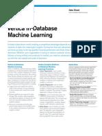 Vertica data sheet