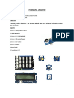 Arduino Proyect