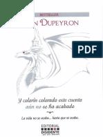 Libro Odin Dupeyron Y Colorin Colorado Es Cuento Aun No Se Ha Acabado
