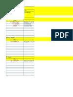 4.1.3 Datos Para Rendimientos de PU