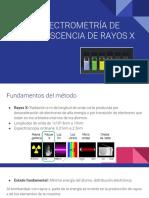 Espectroscopía de Rayos X