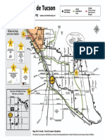 2019 El Tour de Tucson Route Map