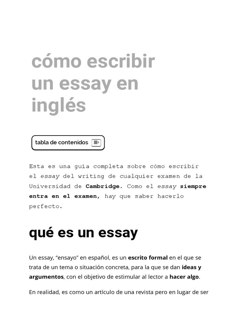 School essay writing