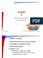 6 Telecommunications and Networks