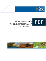 Plan de Manejo PNN EL COCUY
