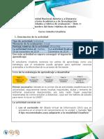 Guía de Actividades y Rúbrica de Evaluación Reto 1 Hábitos de Estudio