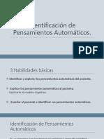 Identificación de Pensamientos Automáticos