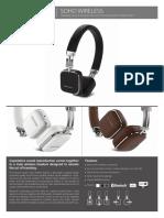 Specification Sheet - Soho Wireless (English)