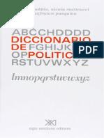 Diccionario de Politica Norberto Bobbio