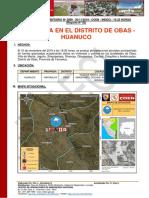 Reporte Complementario Nº 2868 - 20nov2019 - Granizada en El Distrito de Obas - Huanuco (02)