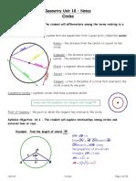 2344Unit10GeometryNotes Circles