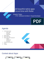 Build beautiful native apps in record time with flutter - Eduardo Telaya.pdf