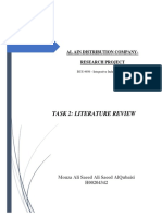 Literature Review - Task 2