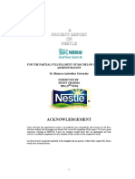 21555830 Project on Nestle by Mudit