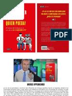 Libro Sálvese Quien Pueda de Andrés Oppenheimer