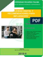 Publicidad Digital Derecho