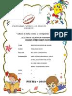 PROCESOS DE GESTIÓN DE LA UGEL