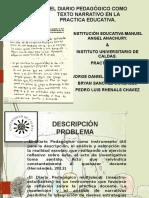 Presentación Narrativa (Diario Pedagogico).