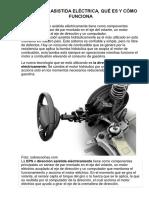 Direccion Electromecanica de Asistencia Variable