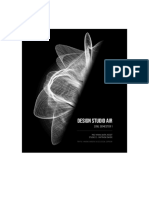 Design Studio Air Journal SEM1 2018