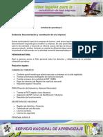 Aa3 Evidencia Documentacion y Constitucion de Una Empresa