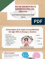 ESTEREOTIPOS DE LA MUJER EN LA PUBLICIDAD DEL SIGLO XXI
