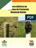 Cerca elétrica no sistema de pastoreio racional Voisin