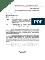Formato 9-Oficio de Comunicacion-Reporte de Avance Ante Situaciones Adversas