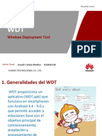 WDT Slides 2600 Claro Project