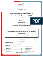 Systeme Gestion Incidents Informatiques