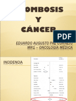 Trombosis y Cancer Expo