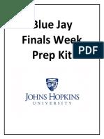 Finals Week Prep Kit 2019