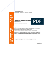 Toulouse-Piéron Cancellation Test - Validation and Normalization Studies in Cognitive Decline