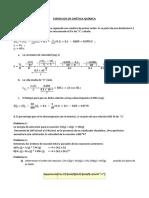 Ejercicios Propuestos de Cinética Química