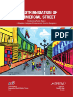 Pedestrainisation of Commercial Street Project Report