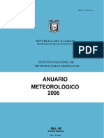 ANUARIO METEREOLOGICO 2006