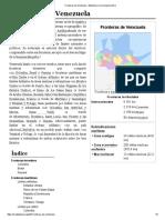 Fronteras de Venezuela - Wikipedia, La Enciclopedia Libre